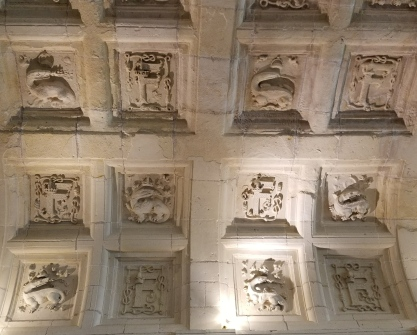 Ceiling in Chambord